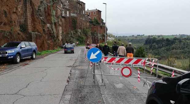 Civita Castellana, chiusa la circonvallazione Belvedere Faleri - Il Messaggero
