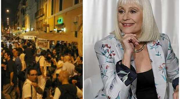 Roma, Fabrizio Marrazzo propone Via Raffaella Carrà: «Si intitoli la Gay street al Colosseo in sua memoria»