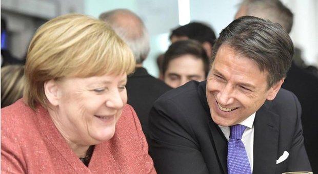 Conte a Merkel nel fuorionda a Davos: