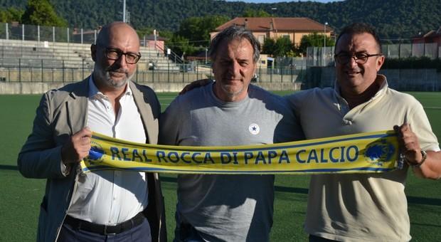 Cirimbilla tecnico del Real Rocca di Papa, nato dalla fusione con il La Rustica