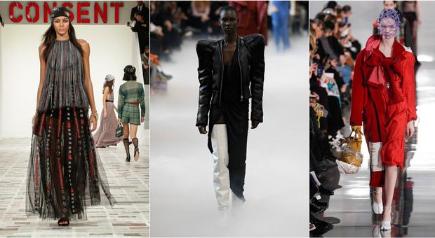 Paris Fashion Week, tra latex e Anni 70 ecco la nuova ribelle