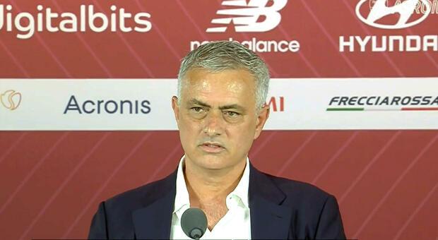 Mourinho, la conferenza di presentazione in diretta dalle 13.30 alla Terrazza Caffarelli