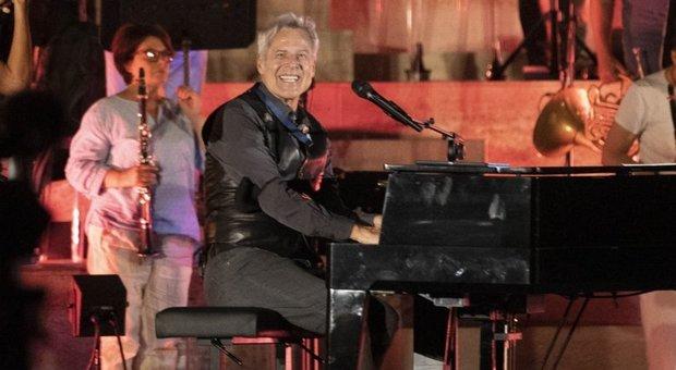 Baglioni in concerto al Viminale: sorpresa per i passanti a Roma