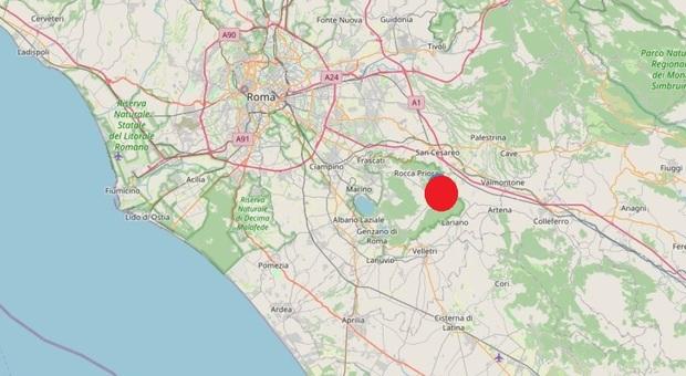 Terremoto, scossa ai Castelli: avvertita anche a Roma