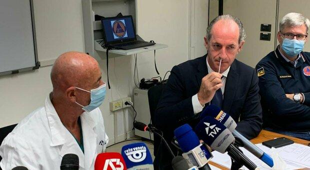 Covid, Luca Zaia: «Ridurre la quarantena, il 95% dei nuovi casi è asintomatico». E in Veneto ecco l'autotampone