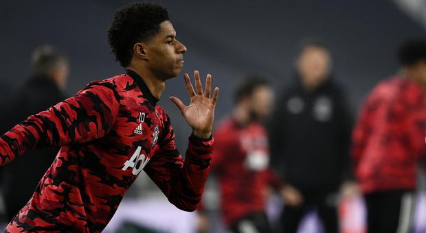 Manchester United, Rashford a rischio forfait con il Milan: problemi alla caviglia