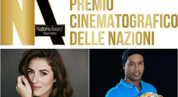 Nations Award, al via il 22 luglio a Taormina: tra gli ospiti Ronaldinho e Diana Del Bufalo