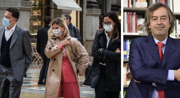 Covid, Burioni: «Le mascherine funzionano, vanno indossate e basta»