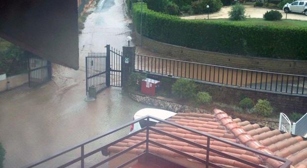Maltempo, allagamenti e fango ai Castelli romani: inondata una casa di riposo