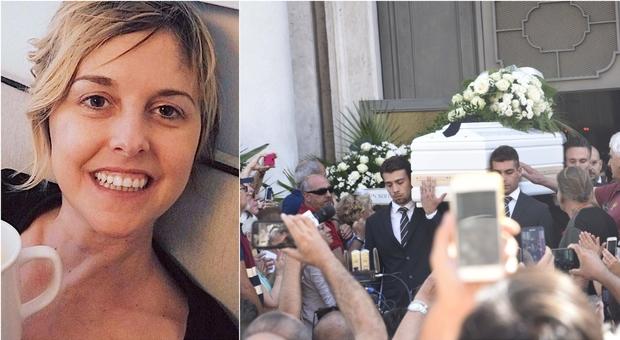 Nadia Toffa, l'ultimo applauso alla Iena più amata: «Era lei che consolava noi»