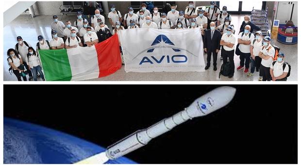 Il razzo Vega pronto a tornare in orbita con 52 satelliti: «Così battiamo anche il virus»