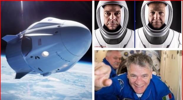 L'astronauta Paolo Nespoli: «Dopo Shuttle e Soyuz andiamo nello spazio con la Crew Dragon di SpaceX»