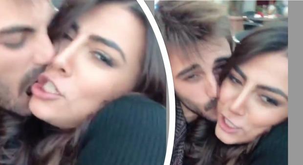 Francesco Monte e Giulia Salemi, baci a Milano: