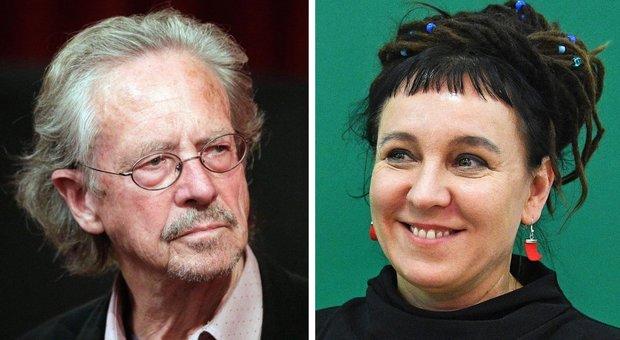 Peter Handke e Olga Tokarczuk