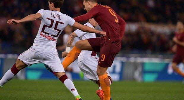 Roma-Torino: le foto della partita