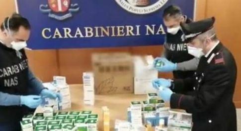 Farmaci anti Covid cinesi sequestrati dai Nas tra Roma, Milano e Firenze