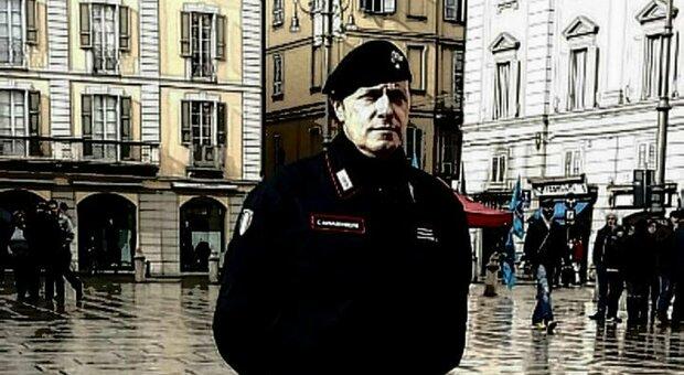 Il maresciallo Marco Orlando in una foto da Facebook