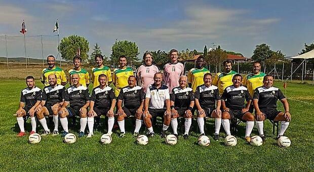 La Nazionale sacerdoti gemellata con la Lazio