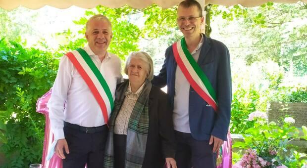 Pasquarosa Giuliani, 100 anni, tra i sindaci di Agosta e di Siubiaco