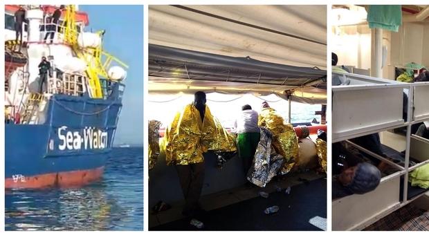 Caso Sea Watch, Di Maio: «Mandiamo i migranti in Olanda». Tre parlamentari a bordo