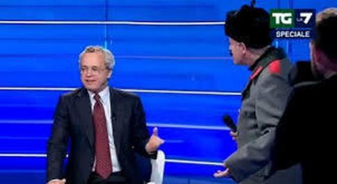 Enrico Mentana e Enrico Lucci
