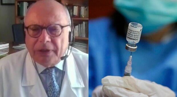 Vaccino, i dubbi di Galli: «Terza dose a tutti mi lascia perplesso, bisogna capire se abbia efficacia»