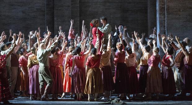 La Carmen di Georges Bizet, regia di Emilio Sagi