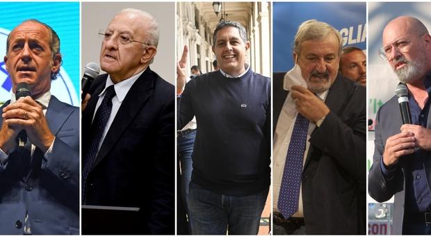 Regionali, ecco i governatori-star: per i nuovi cacicchi è corsa a spartirsi i fondi Ue