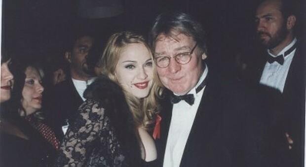 Alan Parker con Madonna per