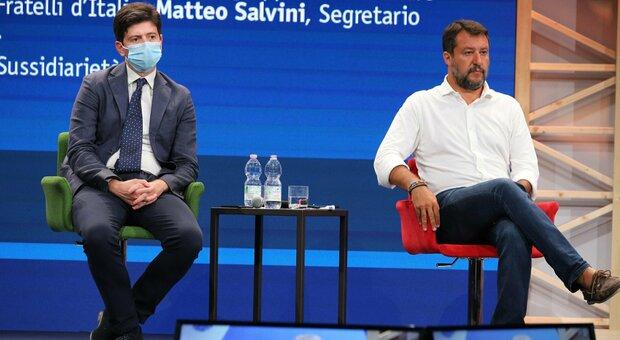 Salvini: «Fiducia in Draghi, no a chiusure per scelta di Speranza. Dopo Pasqua ritorno alla vita sarà realtà»