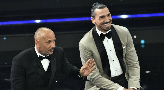 Sanremo 2021, l'amicizia di Ibra e Mihajlovic: «La prima volta mi ha dato una testata»