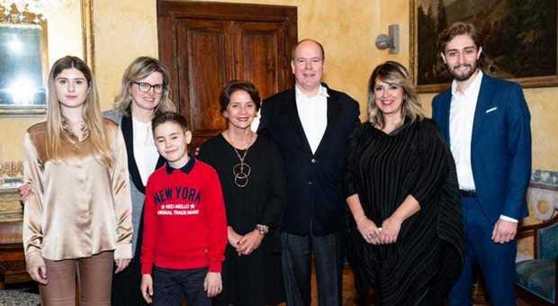 Alberto di Monaco, visita segreta in Abruzzo nelle tenute Masciarelli