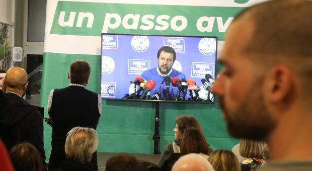 Salvini: «In Emilia per la prima volta partita aperta, ma siamo stati determinanti in Calabria»