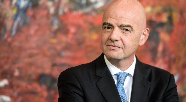 Fifa, Infantino: «Mondiale a 48 squadre per essere globali»