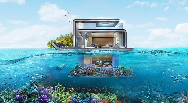 Benvenuti nelle Floating Seahorse, le incredibili ville sottomarine di Dubai