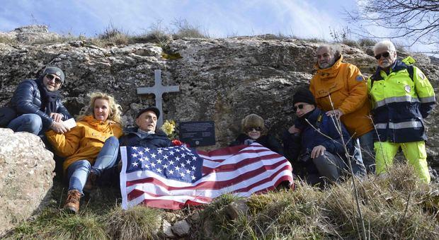Dal Texas fino a monte Tezio nel ricordo del prozio soldato