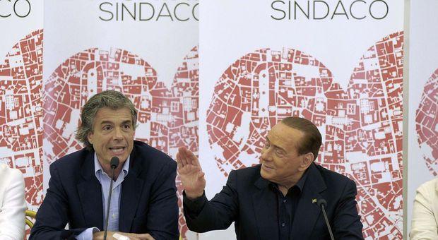 Alfio Marchini e Silvio Berlusconi