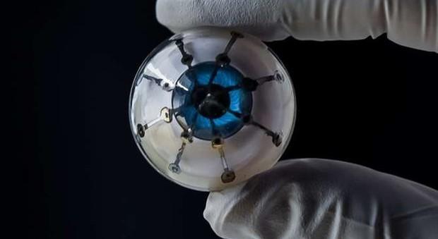 Occhio bionico con la retina simile a quella umana: ecco come funziona