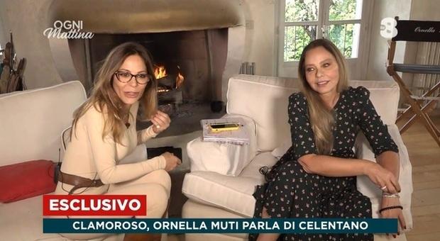 Ogni Mattina, Naike Rivelli e Ornella Muti su Celentano: «Quel segreto era da portare nella tomba»