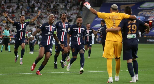 Psg, la Coppa di Lega arriva ai rigori: 6-5 sul Lione