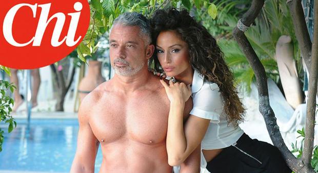 Raffaella Fico e Alessandro Moggi (Chi)