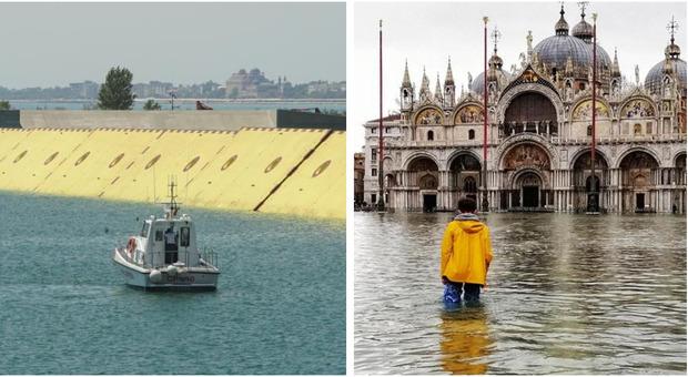 Meteo, a Venezia torna l'acqua alta fino a 135 cm: il Mose pronto al debutto Come funziona Le previsioni