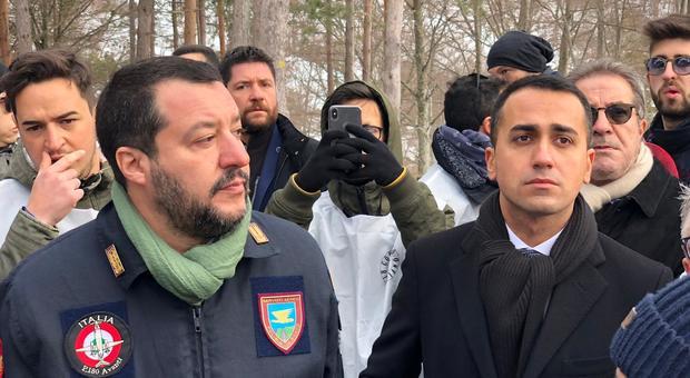 Rigopiano, due anni fa la tragedia dell'albergo: Salvini e Di Maio alla commemorazione