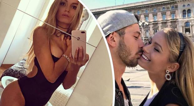Mercedesz Henger in love con Leonardo, l'annuncio in diretta: «Stiamo insieme da nove mesi»