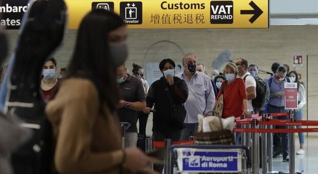 L'aeroporto di Fiumicino attiva i corridoi Covid-tested per i voli tra Roma e Usa: non serve la quarantena