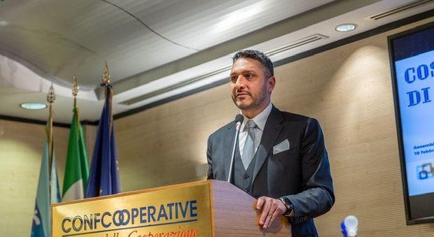 Confcooperative Roma, Marcocci eletto presidente «I nostri obiettivi: digitalizzazione e parità di genere»