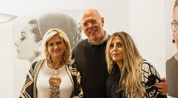 Fabiola Vitale, Antonello Tacconi e Rita Rocconi