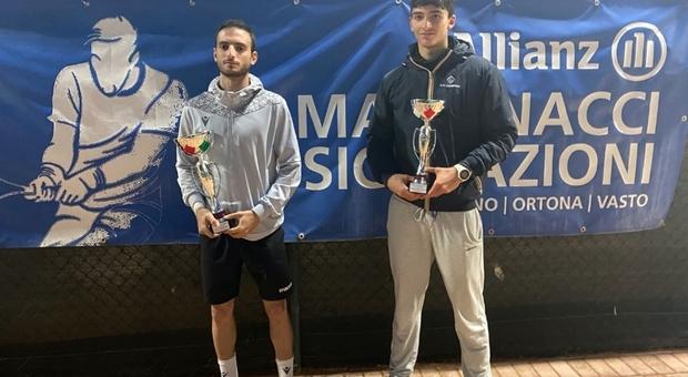 I finalisti: a destra Guerra, a sinistra Rossi Principe