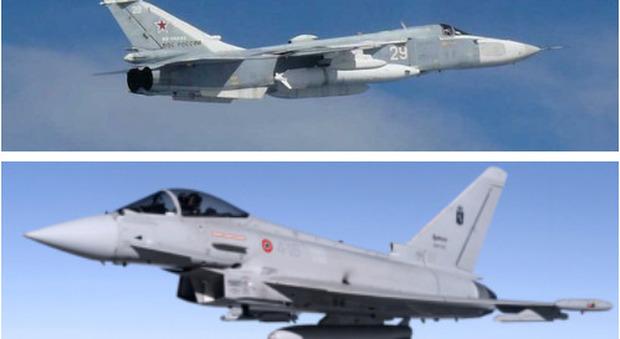 Scramble, il premier spagnolo Sanchez e il presidente lituano Nauseda costretti a sloggiare: ci sono caccia russi da intercettare