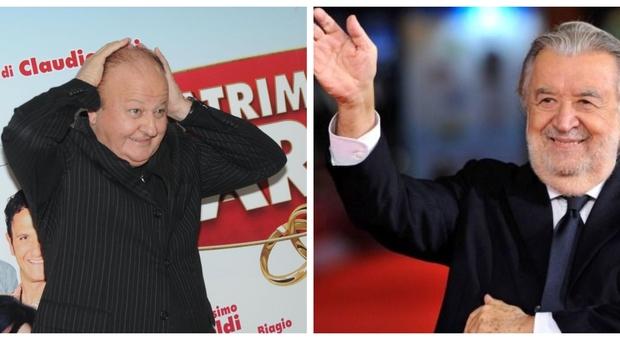 Massimo Boldi: «Deluso da Pupi Avati, mi ha tolto il ruolo». Doveva fare il padre di Sgarbi